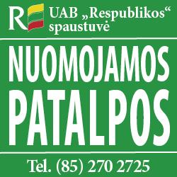 Respublikos spaustuvės nuoma 2014-12